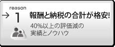 顧客満足度ナンバーワン 低料金・明瞭会計・低相続税でNo.1