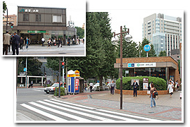 JR御茶ノ水駅 聖橋口
